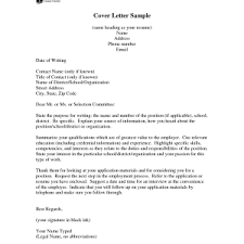 addressing a cover letter no letters how do you address smlf