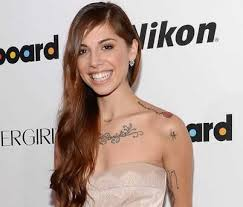 is christina perri planning on getting a face tattoo popstartats