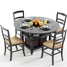 Pottery Barn Dining Room Set by Pottery Barn Shayne Table U0026 Isabella Chairs Black