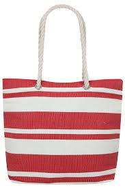 nautical bag nautical striped bag with rope handles