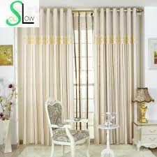 Blue And Gold Curtains Special Offer Curtain Blue Gold Silk Jacquard Gradient Cloth