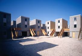 Row House Model - eight buildings that change lives and solve social ills