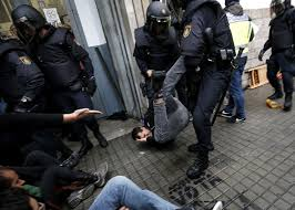 catalonia violence what the crackdown on an independence