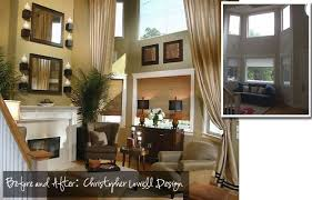 Tall Tales The Makings Of A Two Story Family Room Bungalow - Two story family room decorating ideas