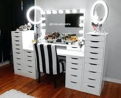 vanity dresser with lighted mirror vanity dresser with lighted mirror inspirational makeup desk with