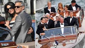 george clooney wedding george clooney amal alamuddin wed in italy abc7chicago