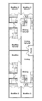duplex floor plans for narrow lots narrow duplex plans search pinteres