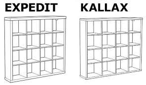 libreria kallax ikea salva gli alberi diminuendo lo spessore della libreria