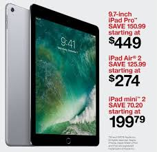 target black friday ad 2016 printable target black friday 32gb apple ipad air 2 wifi tablet for 274 00