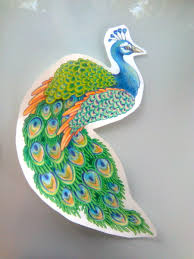 how to draw a peacock for kids step by step animals for kids