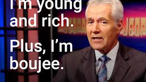 bad and boujee raindrop drop top u0027jeopardy u0027 host alex trebek raps u0027bad and