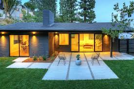 Contemporary Ranch Cozy Modern Ranch Residence In The Hollywood Hills Inviting Any
