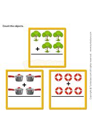 picture addition 5 math worksheets preschool worksheets