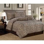Cheetah Twin Comforter Leopard Print Bedding