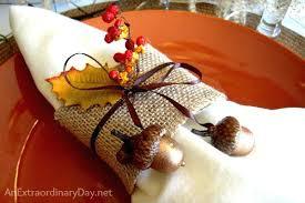 easy ideas for napkin rings aesh me
