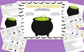 speech bubble activity halloween pragmatics u0026 other spooky speech activities the