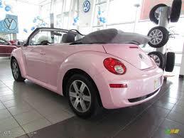 pink convertible volkswagen 2006 custom pink volkswagen new beetle 2 5 convertible 60561691