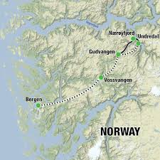Norwegian Air Route Map by Kayak And Wildcamp Norwegian Fjords Much Better Adventures