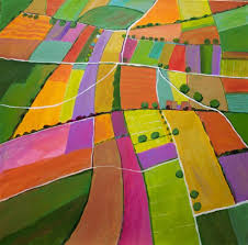 summer fields by toni silber delerive acrylic painting ugallery