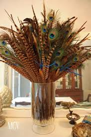 Centerpiece With Feathers by Best 25 Peacock Feathers Ideas On Pinterest Peacock Drawing