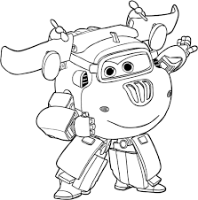 donnie super wings coloring pages