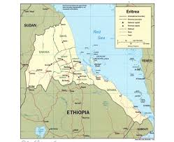 Djibouti Map Maps Of Eritrea Detailed Map Of Eritrea In English Tourist Map