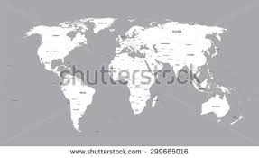 world map black and white with country names pdf white world map names all countries stock vector 299665016