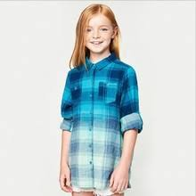 ombre blouse buy blue ombre shirt and get free shipping on aliexpress com