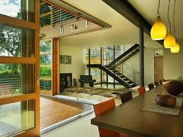 Glass Wall House Design Leschi Residence In Seattle Modern Usa House Interior Design
