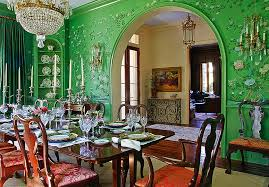 Green Dining Room To Use Green To Create A Fabulous Dining Room