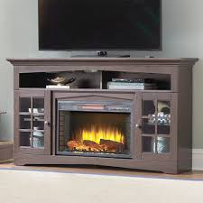 Propane Fireplace Tv Stand by Espresso Fireplace Tv Stand Infrared Electric Fireplace In