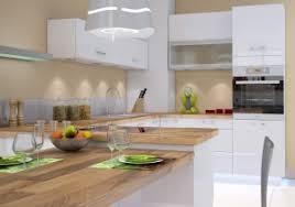 cuisine blanche et plan de travail bois plan de travail cuisine blanche maison design bahbe com