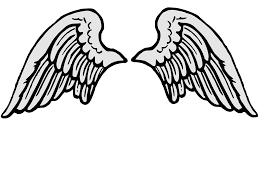 tattoo angel simple simple angel wing tattoo clipart panda free clipart images