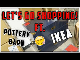 Shop Pottery Barn Outlet Let U0027s Go Shopping Ft Pottery Barn Outlet And Ikea Youtube