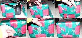 how to wrap presents no more tape use these tapeless gift wrap hacks on last minute