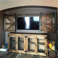 Entertainment Center Cabinet Doors Log Entertainment Center Rustic Tv Stand Hickory Furniture With
