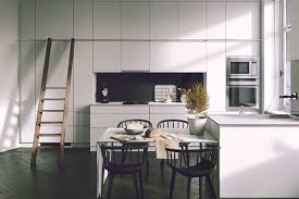 kitchen open plan black and white kitchen features black marble