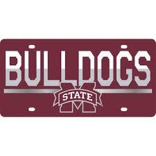 michigan state alumni license plate frame mississippi state bulldogs license plates mississippi state