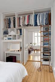 ideas for small bedroom storage white and plum pillows natural