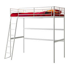 Cheap Loft Bed Frame Great S Workshop How To Shorten A Non Adjustable Metal Ikea