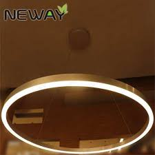Large Ring Led Suspended Pendant Light Chandelier Lamp Ceiling
