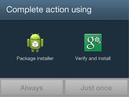 apk installer apk how to use default package installer android when trying to