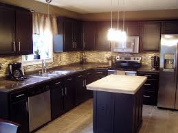 L Shaped Small Kitchen Ideas Kitchen Attractive Home Small Kitchen Design With Maple U Shape