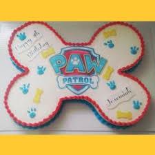 paw patrol sheet cake sweet child birthday specialty