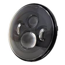 amazon com dot approved 7inch black led daymaker headlight for