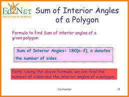 Interior Angles Calculator 6 Formula For Sum Of Interior Angles Cv Sample Format