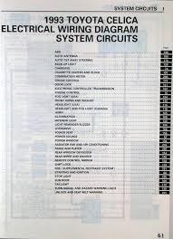 1990 1993 gen 5 toyota celica electrical wiring diagram