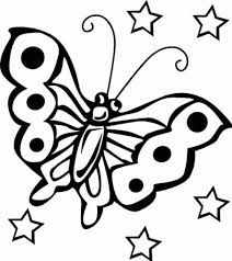 free printable butterfly coloring pages for kids 36653