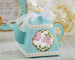wedding favor box tea time whimsy teapot favor box set of 24 my wedding favors