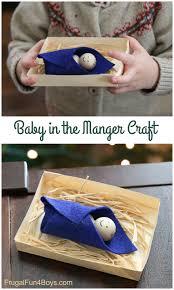 sweet manger craft for preschoolers